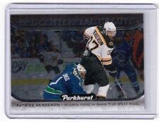 2016-17 UD Parkhurst NHL Centennial Salute Patrice Bergeron Boston Bruins