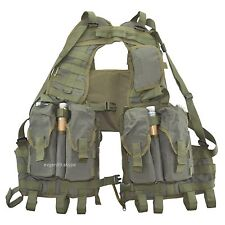 SSO / SPOSN Tactical Vest Nerpa Olive Russian Scout Chest Rig
