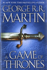 George RR Martin A Game of Thrones 1 Hardcover 1st Edition Later Print VG+