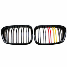 1 Pair M-Color Center Kidney Grill Grille Trim Kit for BMW E39 525 528 1996-2003