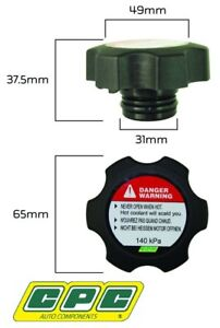 CPC RADIATOR CAP FOR HOLDEN CALAIS VE VF SIDI LLT LFX 3.6L V6