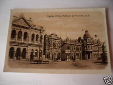 ANTIQUE VINTAGE PHOTO POSTCARD OLD SHIPPING OFFICES FREMANTLE  WESTERN AUSTRALIA