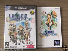 JEU NINTENDO GAMECUBE FINAL FANTASY CRYSTAL CHRONICLES  COMPLET EN FRANCAIS