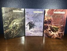 Salvatore HUNTER'S BLADE TRILOGY First 1st Ed. HC Book I-3 Lot Dungeons Dragons
