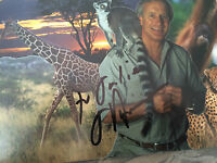 7x5 Hand Signed Photo of Zoologist Jack Hanna