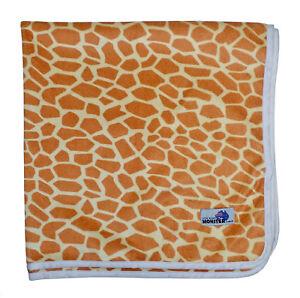 Minky Giraffe Change Mat, Soft Reusable Cloth Waterproof Multi-Function
