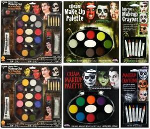 LOT OF 6 - Monster Value Makeup Set   Makeup Palettes   Makeup Crayons   SEALED