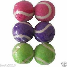 ANCOL MINI TENNIS BALLS - SMALL TENNIS BALL - SIX PACK - PERFECT FOR PUPPIES