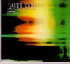 (CC996) Ambulance Ltd, Primitive (The Way I Treat You) - 2003 CD