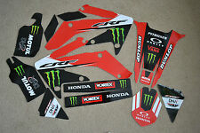 Team Honda graphics Honda CRF250X CRF  04 05 06 07 08 09 10 11 12  13 14 15 16