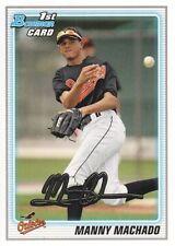 2010 Bowman Manny Machado #BDPP80 Baseball Card