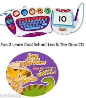 Fisher-Price Fun 2 Learn Computer Cool School Leo And The Dinosaurs Software
