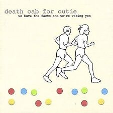 DEATH CAB FOR CUTIE - WE HAVE THE FACTS AND WE' NEW VINYL RECORD