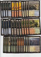 40 Guildgate Dual Land - Dragon's Maze - NM/SP -4x of each -Sets - Magic MTG FTG