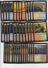 40 Guildgate Dual Land - Dragon's Maze - NM/SP -4x of each -Sets - Magic MTG FTG