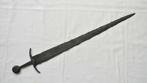 VIKINGs Great BATTLESWORD 93cm 37inch 10/12th cAD 166 Excellent piece of history
