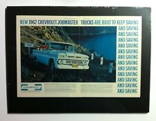 """1962 Chevrolet Pick Up Truck California """"Ready to Display""""print ad 1963 1964"""