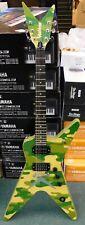 RARE Washburn Guitars DIME32EC Solid-Body Electric Guitar - Gig Bag - Green Camo