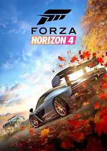 Forza Horizon 4 Video Game Print Glossy Canvas Wallpaper Poster Home Size A4