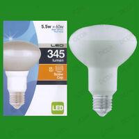 2x 5.5w (=60w) R80 Led Économie D'Énergie Réflecteur Spot Ampoule Es E27 Lampe