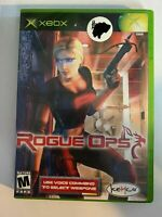 ROGUE OPS - XBOX - COMPLETE WITH MANUAL - FREE S/H - (T9)