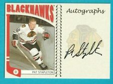 2004-05 In The Game Franchises Series PAT STAPLETON AUTOGRAPH #A-PS