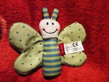 Sigikid Schmetterling,Baby Spielzeug, Greifling, Knisterschmetterling, 41179,TOP