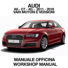 AUDI A7 S7 Manuale officina Manuale di servizio download