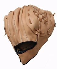 "Leather  base ball Camel / Red 10.50"" Infield / Pitcher Baseball Glove"