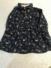 H&M WINTER DRESS 9-12 MONTHS BABY GIRL - IMMACULATE CONDITION