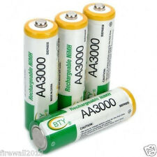 4 pcs AA size LR06 3000mAh 1.2V NI-MH rechargeable battery BTY (sealed)