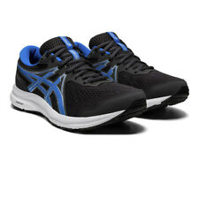 Asics Mens Gel-Contend 7 Running Shoes Trainers Sneakers Black Blue