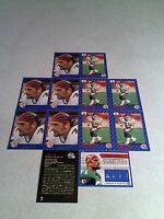 *****Bobby Jurasin*****  Lot of 20 cards.....3 DIFFERENT / Football / CFL