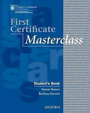 First Certificate Masterclass: Student's Book: 2008 edition-ExLibrary