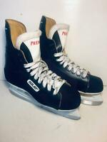 Bauer Premier Ice Hockey Skates 8D Black