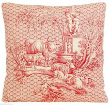 Toile Country Decorative Cushions