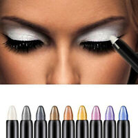 WOMEN LADY HIGHLIGHTER EYESHADOW PENCIL GLITTER EYE SHADOW EYELINER PEN CHEERFUL