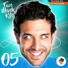 Face Masks Photo DIY KITS Personalised For Hen Parties Birthdays Stag Party