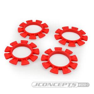 """JConcepts JCO2212-7 """"Satellite"""" Tire Glue Bands (Red)"""