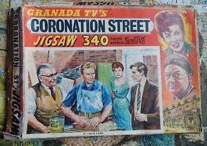 GRANADA TVs CORONATION STREET no2 LENS YARD  VINTAGE  JIGSAW 340 piece