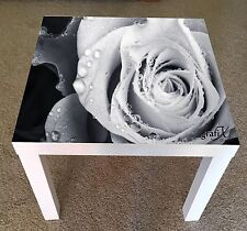 Roses Vinyl Sticker Suitable For ikea lack Table / Coffee table lk19