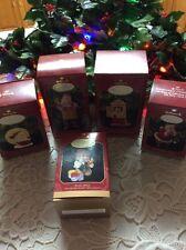 Lot 5 Hallmark Keepsake Ornament Collectors Club 25 Years Archive's Christmas Ne