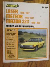 GREGORYS Ford Laser Meteor 1985-1987 Mazda 323 Service & Repair Manual 1985 - 89