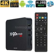 M9S-PRO Android 6.0 TV Box Amlogic S905X Quad Core WiFi 3D Movies 4K Media B4S1