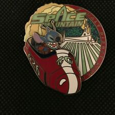 WDW  Disney Pin Stitch Space Mountain Attraction  Pin 56542