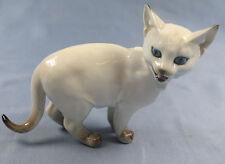 Katze Katzenfigur Porzellanfigur hutschenreuther Siamkatze figur porzellan
