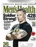 MEN'S HEALTH MAGAZINE MARCH 2018 SPECIAL MILITARY ISSUE- SOLDIER STRONG