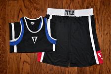 Title Men's Boxing Pants + Shirt Ring Wear Size XXL