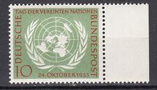 BRD 1955 Mi. Nr. 221 Postfrisch mit Seitenrand TOP!!! (21535)