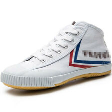 Men's Women Feiyue Casual Sports Tennis Shoes High Top Jump Canvas Sneakers Chic